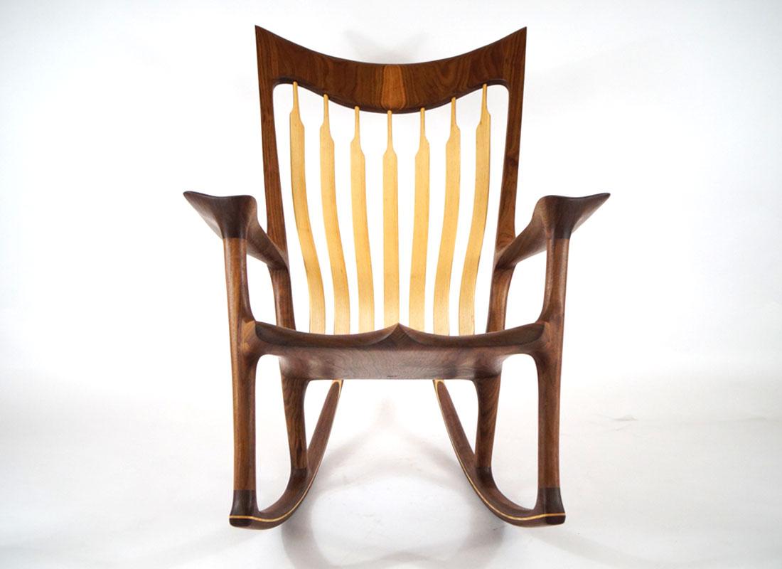 custom buy handmade customdoublerockingchair gallery free rocking wooden double chair try