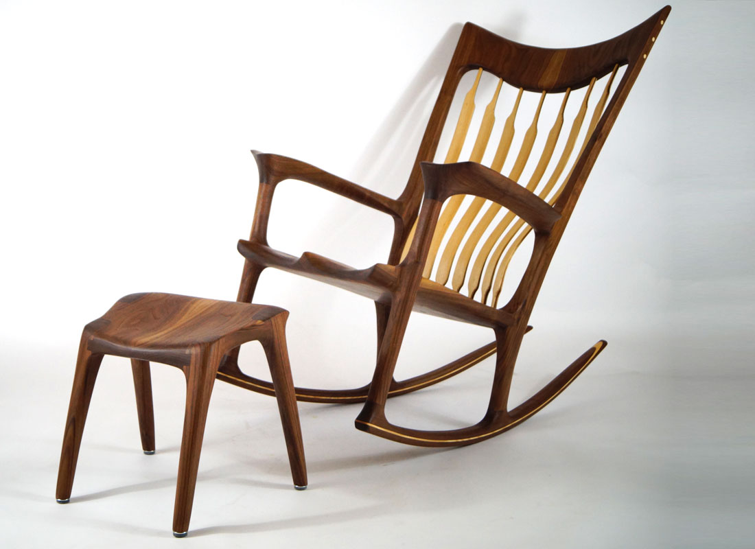 cedar free hd leather rocking within inspire and peru chair nobility handmade